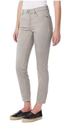 Buffalo David Bitton Daily Mid Rise Skinny Ankle Grazer Gray Jeans (4)