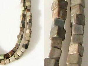 (U.S.A. Petrified Wood Silver Leaf Agate Bead Strand (Approx 100 Beads) 109472 Spacer Beads and Roll Crystal String for Bracelets Jewelry Making)