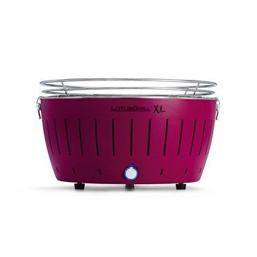 LotusGrill XL Smokeless Charcoal Grill Plum Purple G-LI-435 Genuine