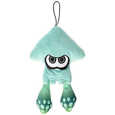 Little Buddy Splatoon 1434 Turquoise Inkling Squid Stuffed Plush Toys: Toys & Games