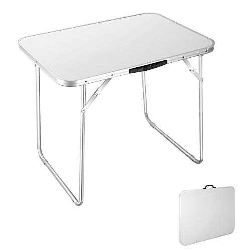 AVGDeals Portable Folding Table in/Outdoor Picnic Party Dining Camping Desk | Ideal for Family reunions, picnics, Camping Trips, buffets or barbecues