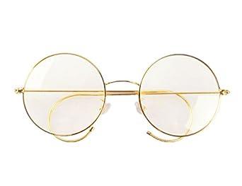 6f4c6d1c5c68 Agstum Retro Round Optical Rare Wire Rim Eyeglass Frame 53mm (X-Large size)