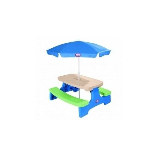 Generic YC-US2-160606-168 <8&38011> Picnicrella Child Umbrella Children Kids Play Table Furniture Chairs Set Activity Toddler Picnic Kids Play T