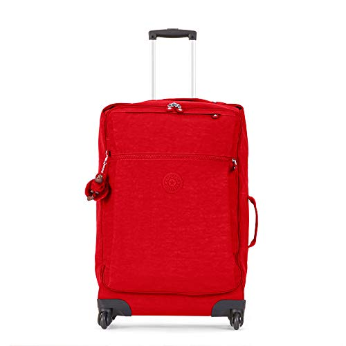 Kipling Darcey Medium Carry-On Rolling Luggage, cherry tonal ()