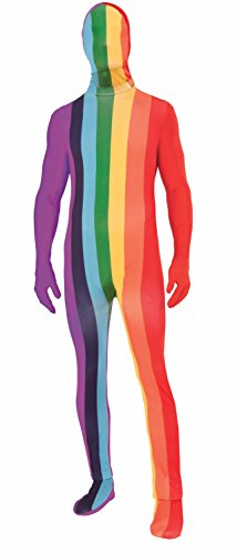 Forum Novelties Men's Disappearing Man Rainbow Xl Costume, Multi, X-Large]()
