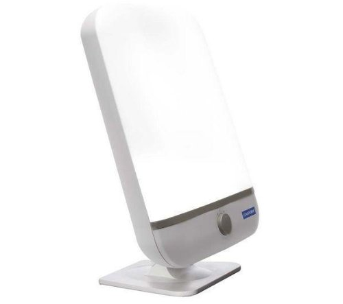 LANAFORM Lumino Plus - Lámpara de ambiente (Energy light, 36 W, 10000 h, Gris, Color blanco, 230 V, 50 Hz) LA190104