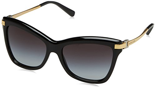 Michael Kors AUDRINA III MK2027 Sunglasses 317111-56 - Black Frame, Light Grey - Michael Eye Cat Eyeglasses Kors