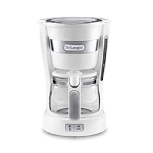 DeLonghi drip coffee maker ICM14011J (White) by DeLonghi