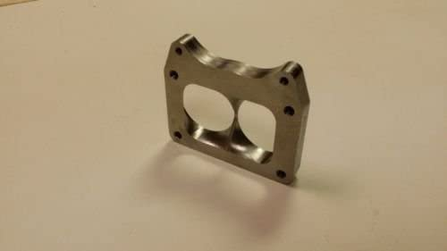 """Stainless T6 Undivided Collector to Twin 2.50/"""" Inlets Turbo Flange Supports 3//4"""