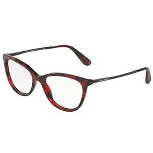 Dolce&Gabbana DG3258 Eyeglass Frames 2889-52 - Cube Bordeaux DG3258-2889-52