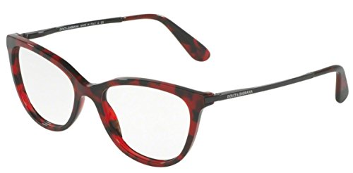 Dolce&Gabbana DG3258 Eyeglass Frames 2889-52 - Cube Bordeaux - Optical And Dolce Gabbana Glasses