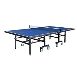 Carmelli NG2310P3 Back Stop Table Tennis Table with Coated Steel Legs and Fold-Up for Compact