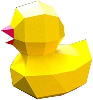 3D折り紙壁の装飾DIY壁紙トロフィーDIY幾何学3D紙モデル家の装飾手作りDIY材料おもちゃ工芸品