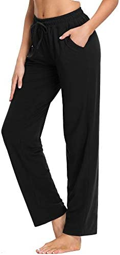 PACBREEZE Women's Yoga Pants Loose Comfy Pajama Pants Casual Pilates Running Workout Sweatpants with Pockets 3