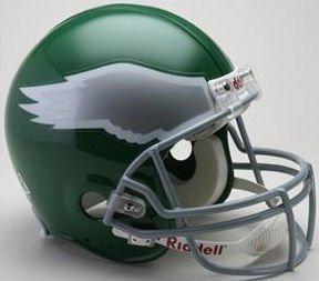 Philadelphia Eagles 1974-95 Throwback Pro Line Helmet (Philadelphia Ultimate Helmet Eagles)