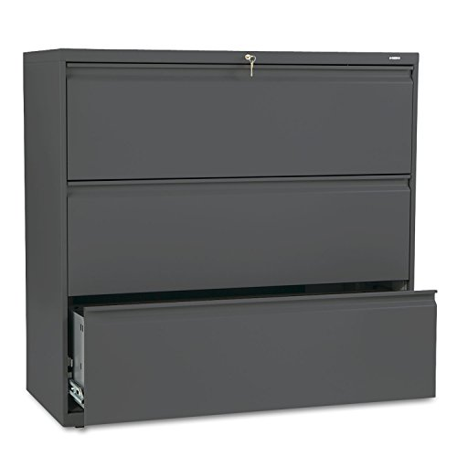 HON 800 Series Three-Drawer Lateral File, 42w x 19-1/4d