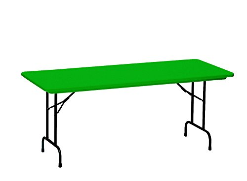 36 Correll Office Furniture - Correll R3072-29 R3072A-29 R Series Blow Molded Plastic Folding Table, 30