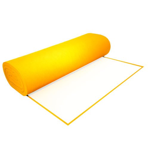 """UPC 738726036026, Acrylic Felt by the Yard with Adhesive 36"""" Wide X 50 YD Long: Yellow"""