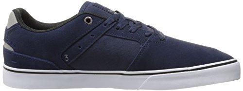Emerica Reynolds Low Vulc Skate Shoe Navy/Grey/White 0MZuWGJ