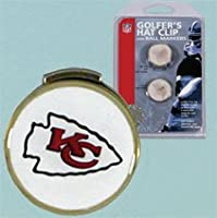 NFL Kansas City Chiefs A01371 Clamshell Hat Clip with 2 Markers