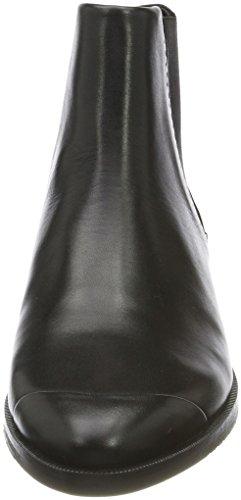 Royal RepubliQ Prime Brogue Blk, Stivali Chelsea Donna Nero (Black 01)