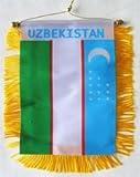 Uzbekistan - Window Hanging Flag