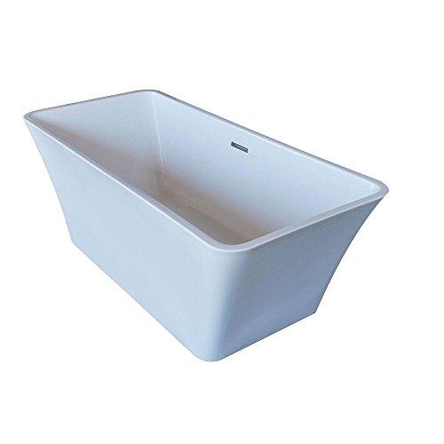 PureCut 30 x 67 Rectangle Acrylic Freestanding Bathtub by Universal Tubs
