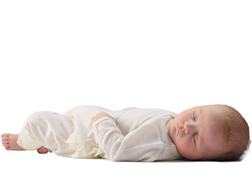 Wool Baby Natura Pure (Merino Kids All-in-One, Cream, for Babies 0-3 Months)