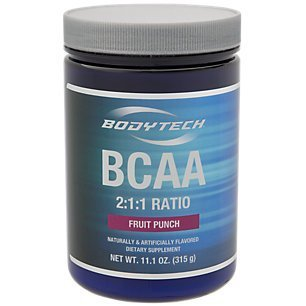 BodyTech BCAA - Fruit Punch (11.1 Oz Powder)