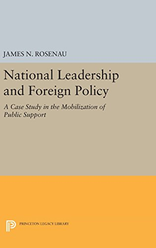 National Leadership and Foreign Policy – A Case Study in the Mobilization of Public Support