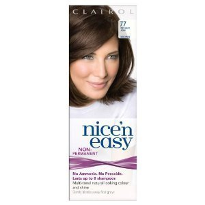 Clairol Nice N' Easy Hair Color #77, Medium Ash Brown (Pack of 6) Uk Loving Care by Clairol