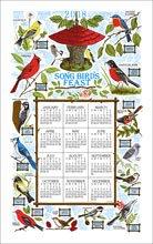 2018 Songbird Festival Linen Calendar Towel (F3279)