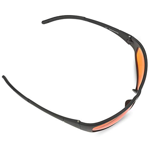 8429df3fc37f Amazon.com  Blue Blocking Amber Glasses for Sleep - BioRhythm Safe(TM) -  Nighttime Eye Wear - Special Orange Tinted Glasses Help You Sleep and Relax  Your ...
