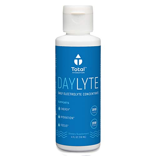 - Daylyte Electrolytes Supplement, Electrolyte Drops, Liquid Electrolytes, Magnesium Potassium Supplement, Increase Energy, Mental Focus, Reduce Leg Cramps and Hangover Cure, Trace Minerals, 39 Servings