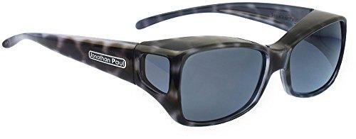 Jonathan Paul Fitovers Dahlia Medium Polarized Over Sunglasses ; Black-Cheetah & Polarvue - Jonathan Paul Sunglasses