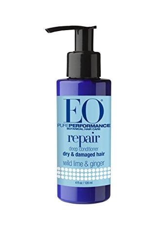 EO Hair Repair, Wild Lime & Ginger, 4-Ounce Bottles