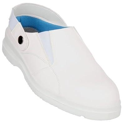 Chaussures De Securite Travail Cuisine Ou Medical Blanche Norme S1
