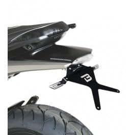 Barracuda - Portamatrículas con Paso de rueda Honda Hornet 600 2007/2011