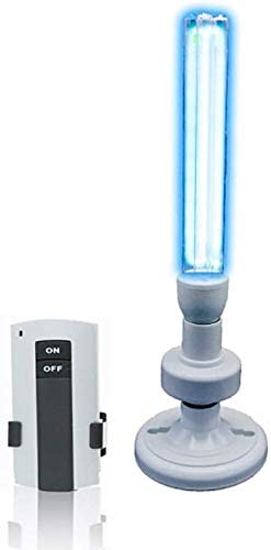 ZWXD - Lámpara de esterilización UV, purificador de Aire, LED ...