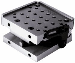 SUBURBAN Single Angle Sine Plate - Model : SP-612-S2 CENTER DISTANCE OF ROLLS: 5.000