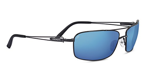 Serengeti Dante Sunglasses, Black Pearl