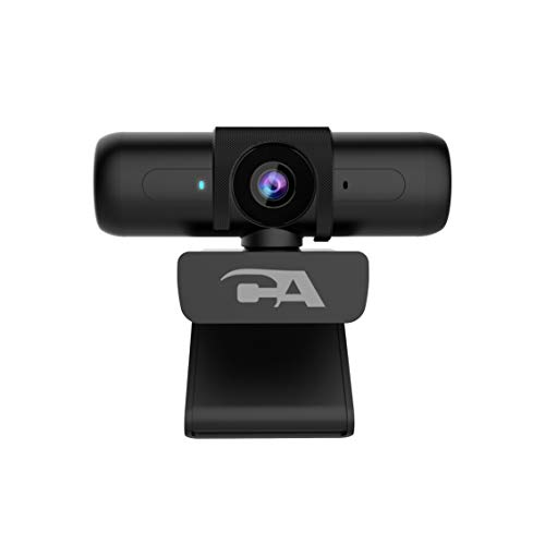 50 Pack - CA Essential Webcam 1080HD-AF – USB Webcam with Microphone - for Desktop or Notebooks, 1080p Webcam, HD Auto-Focus and Light Correction, Omni-Directional Microphone (WC-2000-50)
