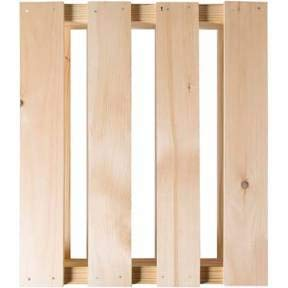 Crates and Pallet - Quarter Pallet New Wood - 23in x 20in x...