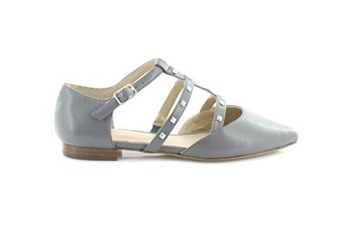 Enige Samenleving Susie Womens Flats & Oxfords Metal Grey