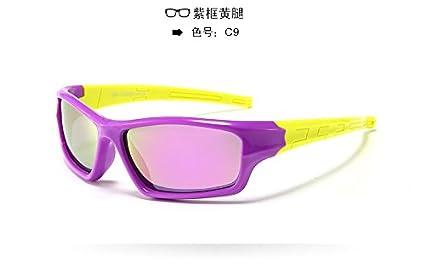 Shishanyun Deporte Fuera de conducción bebé niños Sun UV400 Gafas de Moda Gafas de Sol polarizadas