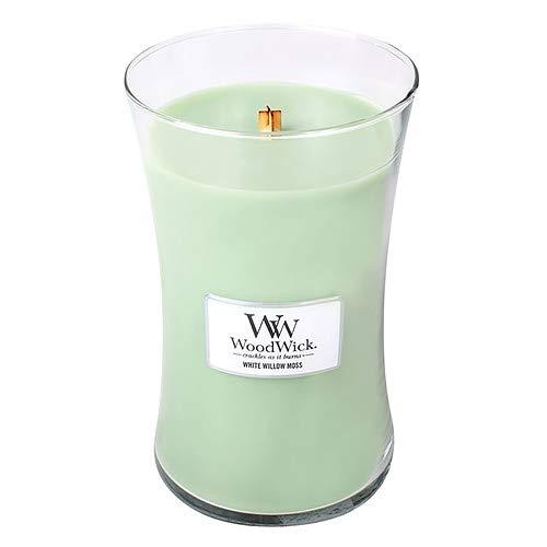 Musgo de Sauce Blanco Vela Perfumada con llama Hearthwick WoodWick Ellipse