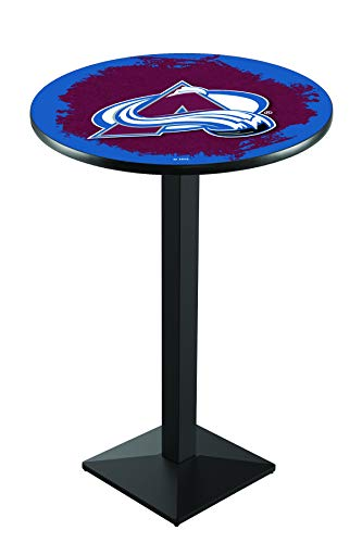 Colorado Avalanche Table Pub - Holland Bar Stool L217 NHL Colorado Avalanche Officially Licensed Pub Table, 28