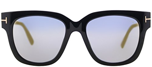 Lunettes de soleil Tom Ford Tracy FT0436 C53 01C (shiny black / smoke mirror)