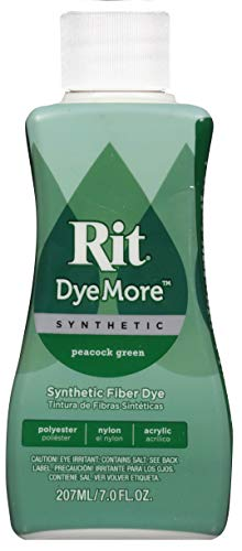 Green Dye - Rit DyeMore Advanced Liquid Dye for Polyester, Acrylic, Acetate, Nylon and More