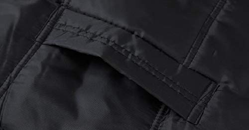 Foderato 1 Degli Cappotto Della Uomini Pile Casuale In Con Calda Inverno Cappuccio Sicurezza Giacca Spessa Parka 1wxpCqR8
